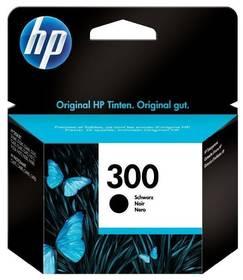 HP No. 300, 200 stran - originální (CC640EE) čierna