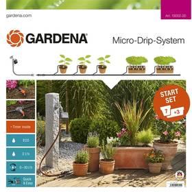 Gardena sada pro rostliny v květináčích s automatikou (13002-20) + Doprava zdarma