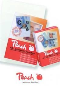 Peach na kreditní karty (54x86mm), 125mic, 100pck/BAL (PP525-07) priehľadná
