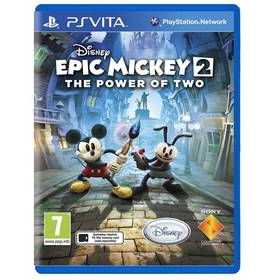 Sony PS VITA Disney Epic Mickey 2: Dvojitý zásah CZ (PS719237662)