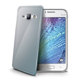 Kryt na mobil Celly Gelskin pro Samsung Galaxy J1 (GELSKIN501) priehľadný