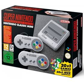 Nintendo Classic Mini: SNES (NICH015) (vrácené zboží 8919002217)