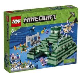 LEGO® MINECRAFT 21136 Památník v oceánu + Doprava zdarma