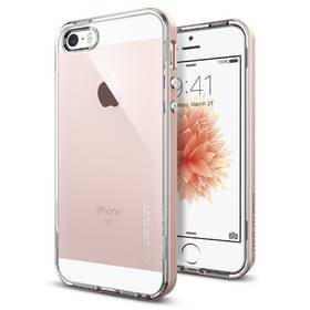 Spigen Neo Hybrid Crystal pro Apple iPhone 5/5s/SE - rose gold (041CS20183) + Doprava zdarma