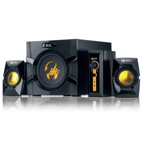Genius GX Gaming SW-G2.1 3000, Verze II. (31730021400) černé/zlaté