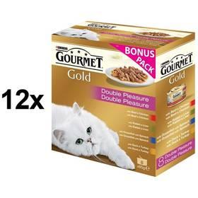 Gourmet Gold směs dušených a grilovaných kousků Multipack 12 x (8 x 85g) + Doprava zdarma