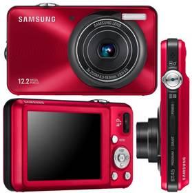 Digitálny fotoaparát Samsung EC-ST45R červený