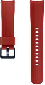 Samsung Galaxy Watch ET-YSU81M, silikonový, 20mm (ET-YSU81MREGWW) červený (vrácené zboží 8800640193)