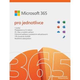 Microsoft Microsoft 365 pro jednotlivce CZ (QQ2-01393)