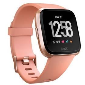 Fitbit Versa (NFC) - Peach / Rose Gold Aluminum (FB505RGPK-EU) + Doprava zdarma