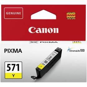 Canon CLI-571Y (0388C001) žlutá