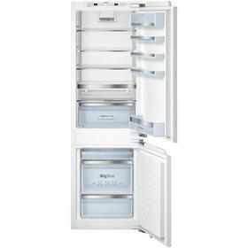 Kombinácia chladničky s mrazničkou Bosch KIS86AD40 biela