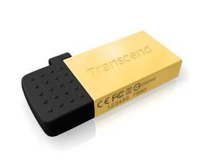 Transcend JetFlash 380G 8GB (TS8GJF380G) zlatý