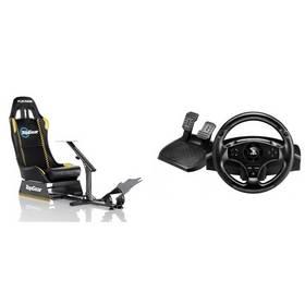 Set Herní sedačka Playseat Evolution TopGear + Volant Thrustmaster T80 pro PS4 a PS3 + Doprava zdarma