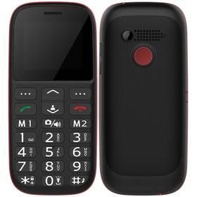 CUBE 1 F100 Dual SIM (F100) černý/červený (vrácené zboží 8800149710)
