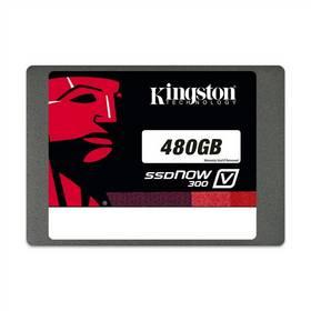 Kingston SSDNow V300 480GB (7mm) Upgrade Kit (SV300S3B7A/480G) černý + Doprava zdarma