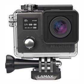 Lamax X8.1 Sirius + dárek čelenka, plovoucí ruční držák a náhradní baterie černá + Doprava zdarma