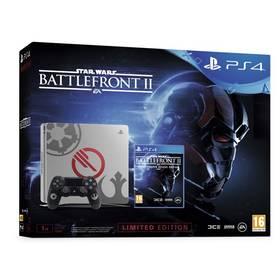Sony PlayStation 4 SLIM 1TB Speciální edice StarWars Battlefront II (PS719970668) + Doprava zdarma