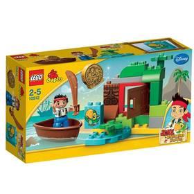 Stavebnice Lego® DUPLO Pirát Jake 10512 Jakeova honba za pokladem
