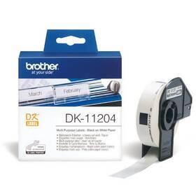 Brother univerzální, 400ks, 17 x 54 mm (DK11204)
