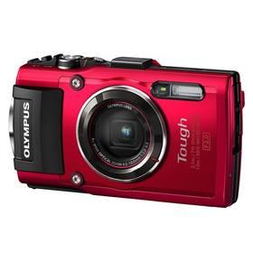 Olympus TG-4 červený Paměťová karta Kingston MicroSDHC 32GB UHS-I U1 (45MB/s) + adaptér (zdarma) + Doprava zdarma