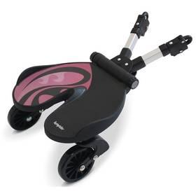 Stúpadlo za kočík Bumprider BUMPRIDER pink čierne/ružové