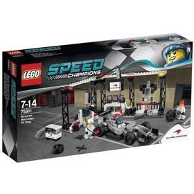 Lego® Speed Champions 75911 Zastávka v boxech pro McLaren Mercedes