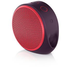 Logitech X100 Mobile (984-000366) červené + Doprava zdarma