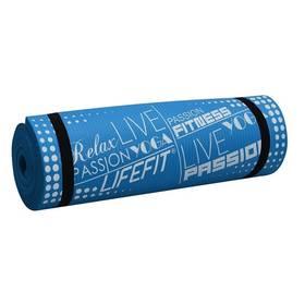 LIFEFIT YOGA MAT EXKLUZIV PLUS, 180x60x1,5cm modrá