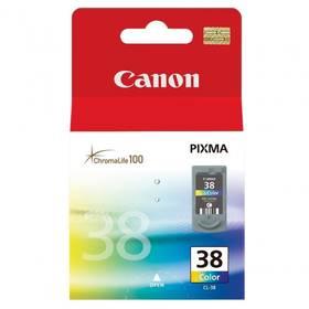 Canon CL-38C, 207 stran - originální (2146B001) červená/modrá/žlutá