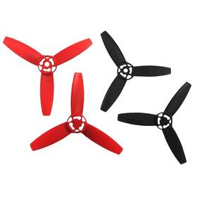 Parrot Bebop Drone sada vrtulí, červeno/černé (PF070078AA)