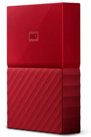 Western Digital My Passport 2TB, USB 3.1 (WDBS4B0020BRD-WESN) červený