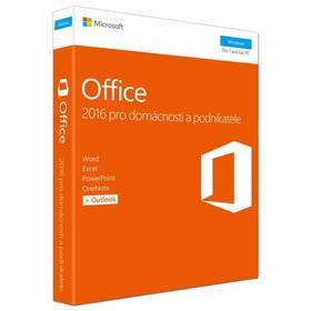 Microsoft Office 2016 CZ pro domácnosti a podnikatele (T5D-02737) + Doprava zdarma