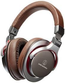 Audio-technica ATH-MSR7 (AU ATH-MSR7 GM) hnědá + Doprava zdarma