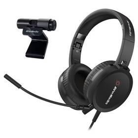 AVerMedia BO317 + headset (61BO317000AP) čierna