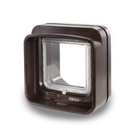Dvířka SureFlap DualScan s mikročipem - hnědé + Doprava zdarma