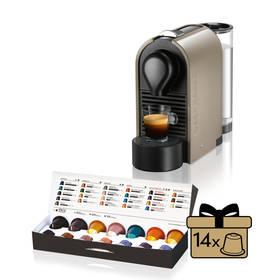 Krups Nespresso U XN250A šedé (Zboží vrácené ve 14 denní lhůtě, servisované 8918004961)