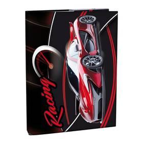 Stil A4 s klopou Racing černé/červené