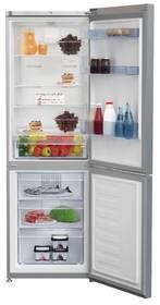 Kombinácia chladničky s mrazničkou Beko RCNA 365 K30XP Titanium