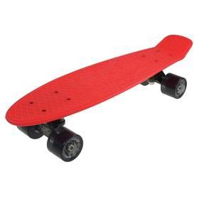 """Penny board Sulov 22"""" RETRO VENICE červený/tr.černý"""