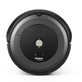 iRobot Roomba 681 černý/šedý + Doprava zdarma