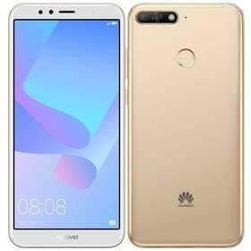 Mobilní telefon Huawei Y6 Prime 2018 Dual SIM (SP-Y6P18DSGOM) zlatý
