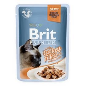 Brit Premium Cat D Fillets in Gravy With Turkey 85 g