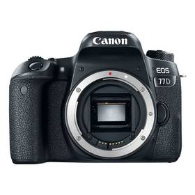 Canon EOS 77D (1892C003AA) černý Paměťová karta Kingston SDXC 64GB UHS-I U1 (90R/45W) (zdarma)