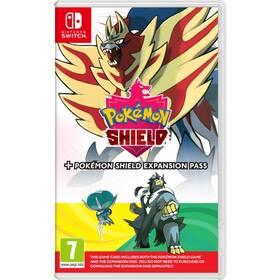 Nintendo SWITCH Pokémon Shield + Expansion Pass (NSS561)