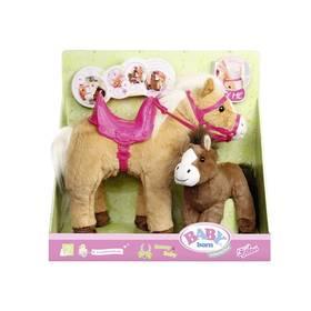 Zapf Creation BABY born interaktivní kůň s hříbátkem + Doprava zdarma