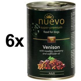 Nuevo Dog Adult zvěřinové menu 6 x 400g