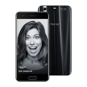 Honor 9 Dual SIM 64 GB (51091TBH) černý Fitness náramek Honor Band 3 - černý (zdarma) + Doprava zdarma