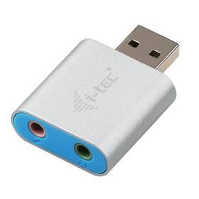 i-tec Metal USB/2x 3,5mm (U2AMETAL) (vrácené zboží 8800522474)