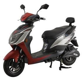 Elektrický motocykl RACCEWAY CITY / GTR / červený-polomat